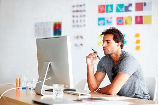 Большинство специалистов в области дизайна имеют портфолио